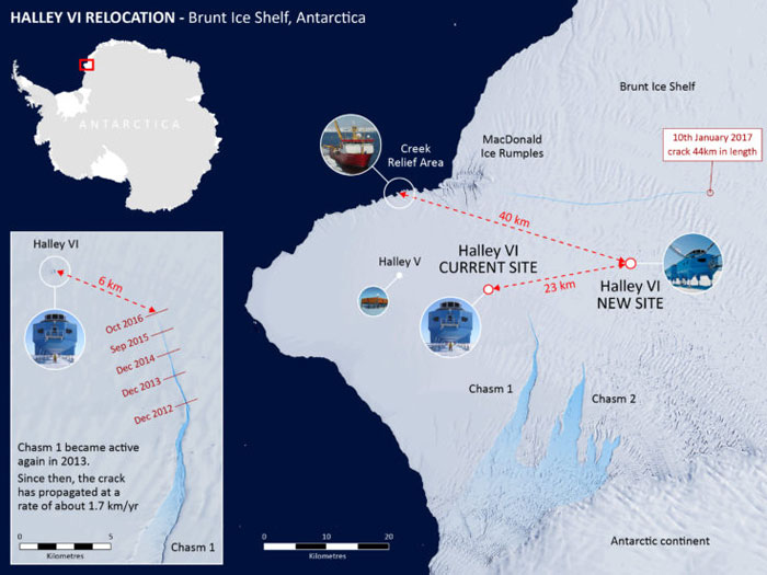 Antarctic research station to be shut down for winter