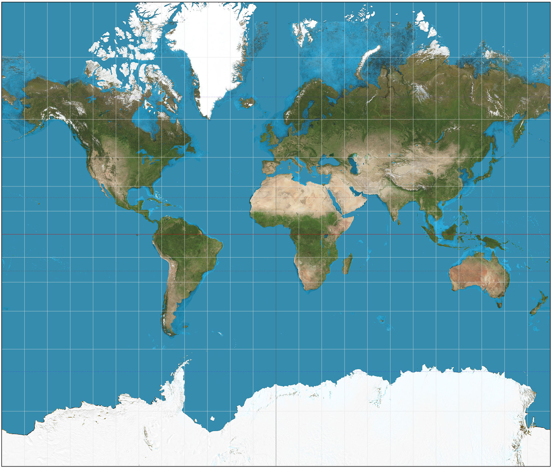 Why Some US Classrooms Are Replacing Traditional World Maps