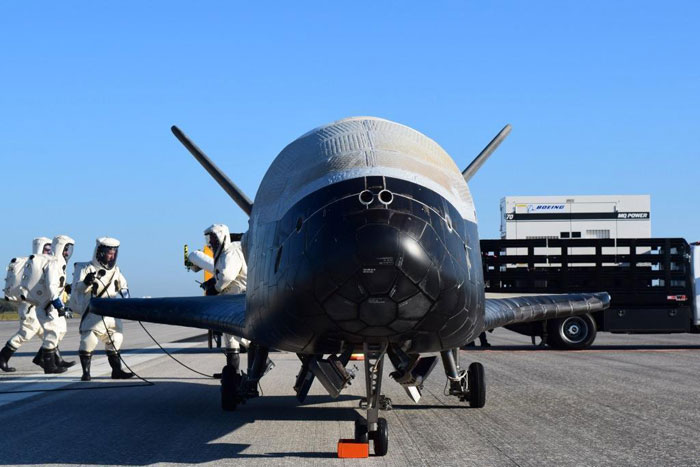 Secret X-37B plane lands after two years in orbit