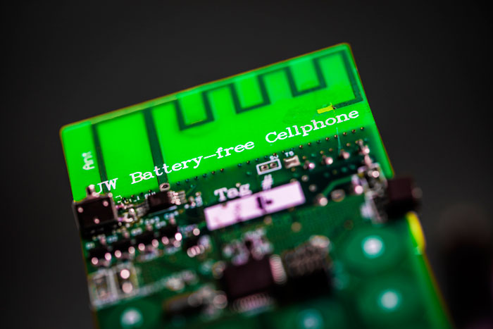 First battery-free mobile phone runs on ambient light