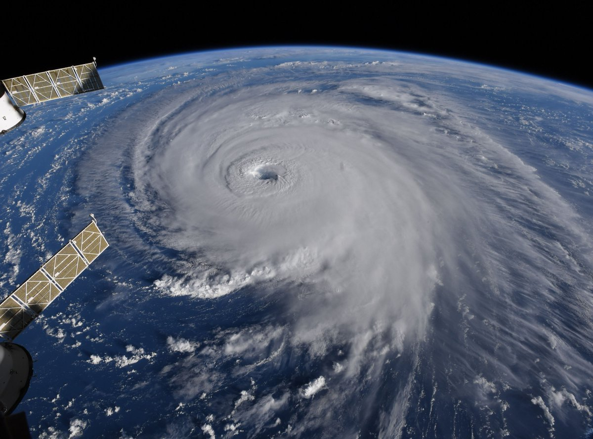 Hurricane Florence makes landfall in US North Carolina coast