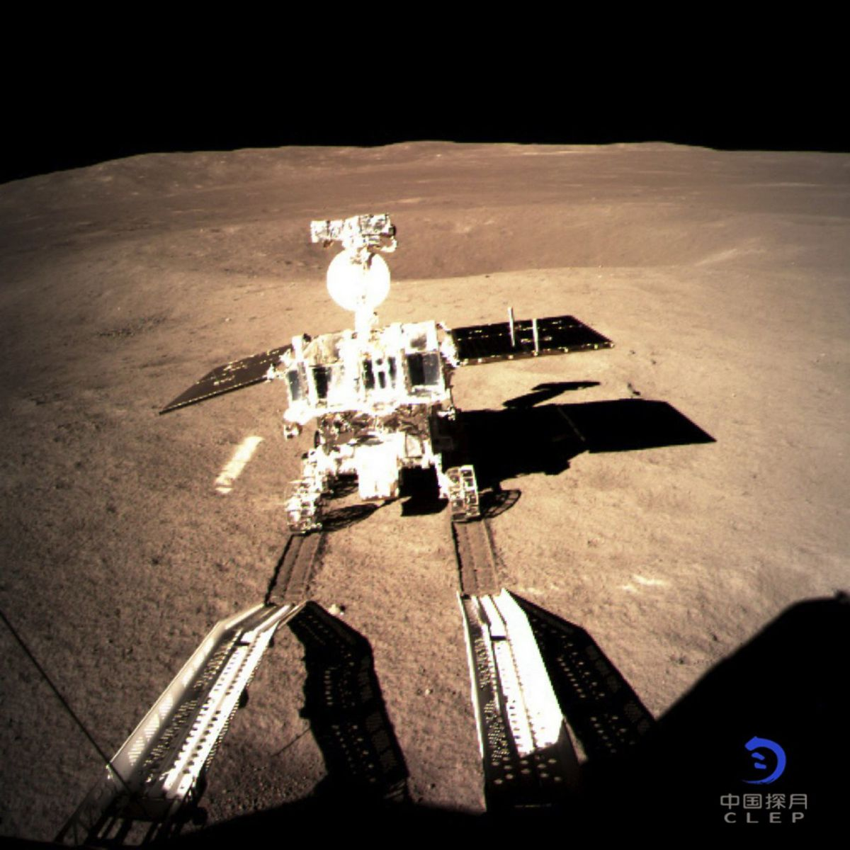 China shares first Chang'e-4 Lunar far side images