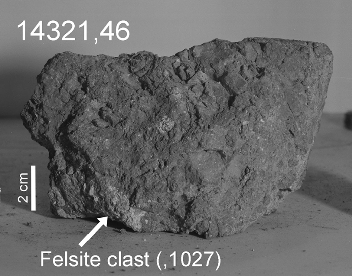 Earth's oldest rock found on Moon by Apollo astronauts, says study