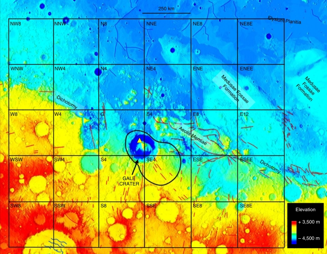 Astronomers detected methane on mars