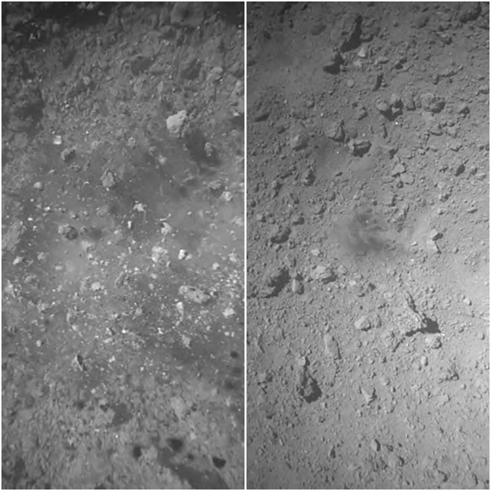 Japan's Hayabusa2 probe successfully landed on an asteroid, again