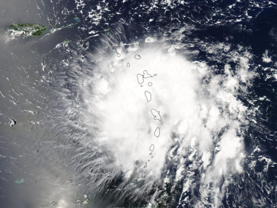 Storm Strengthens to Category 2