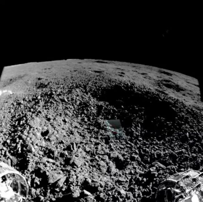 China's Chang'e-4 mission lands on Moon's far side, snaps first image