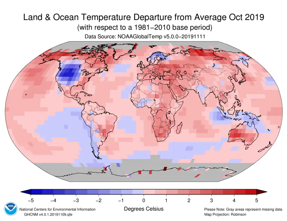 Data Shows We're Living Through Earth's Second Hottest Year on Record