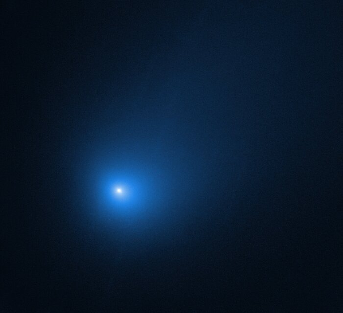 First identified comet to visit our solar system from another star