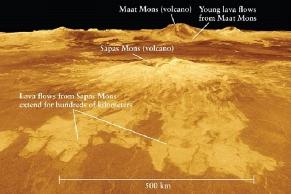 New research suggests that Venus still has active volcanoes