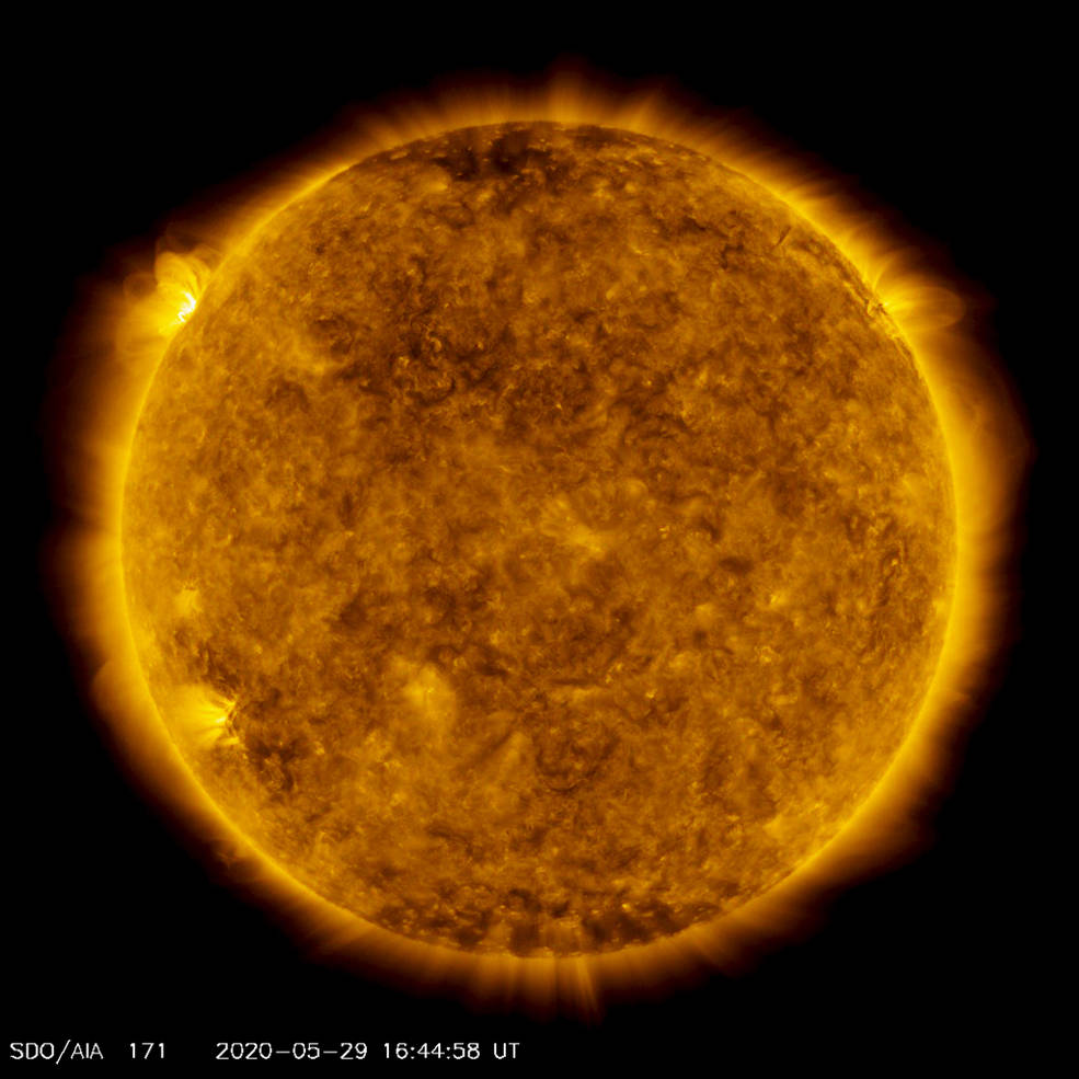 NASA detects a hot batch of new sunspots, suggesting increased solar activity