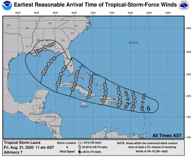 Tropical storms pose rare double threat to Gulf Coast
