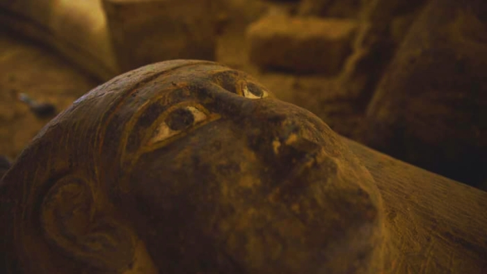 Egypt discovers huge collection of intact 2,500-year-old coffins