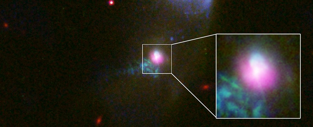 Image result for Astronomers Caught a Black Hole Spewing Out Matter Twice