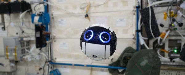 Japan's ridiculously cute floating camera bot is now operational on the ISS