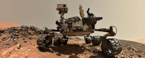 Curiosity is taking a Martian vacation while the Sun blocks out our communications