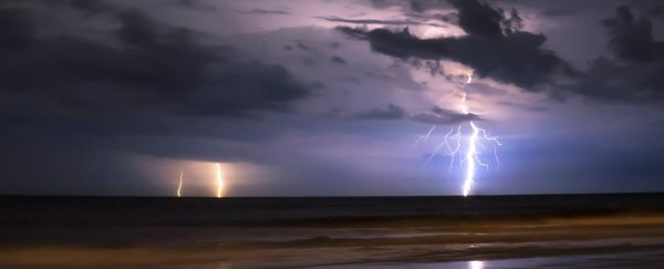 Strange but true: cargo ships are triggering more lightning storms at sea